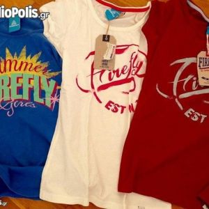 3 μπλούζες firefly για 10-13 ετων ολοκαίνουργιες
