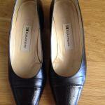 Παπούτσια μαύρα Καλογήρου No 6