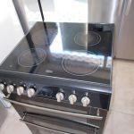 Κεραμική διπλή κουζίνα Belling με αέρα σε καλή κατάσταση!