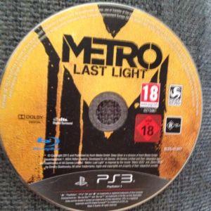 PS3 παιχνίδι Metro Last Night