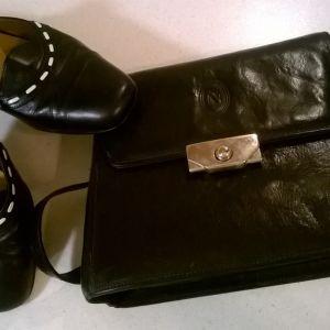 Παπούτσια και Τσάντα ( δερμάτινα )