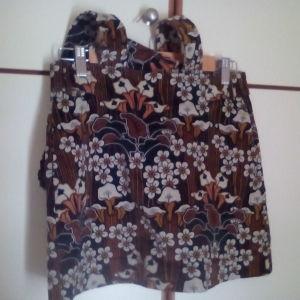 Κοτλέ φούστα με τιράντες - ΖΑRA