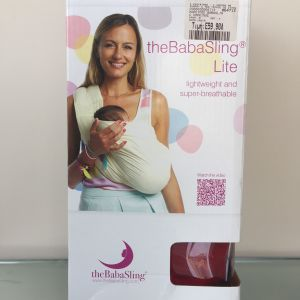 NEW NEVER USED WITH BOX BabaSling Lite original Baby Carrier - Sling Child Toddler Newborn Breastfeeding