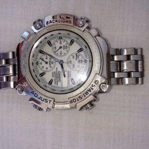 Casio ρολόι με χρονογραφο