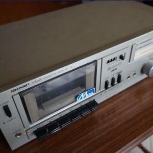 Κασσετόφωνο deck Sharp RT-10 (1980)