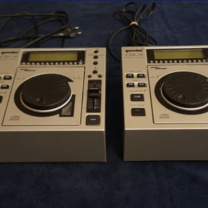 Set 2 Gemini CDJ-20