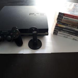 Playstation 3 Slim 250GB + 12 παιχνίδια