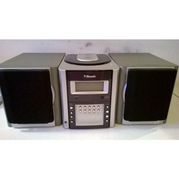 Micro Tower System Bench KH 3300 ( CD / Radio )