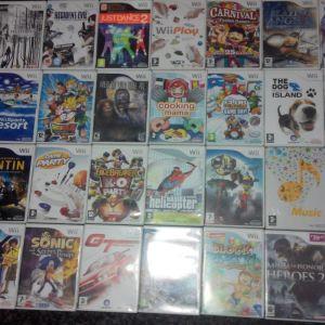 Wii games - παιχνιδια απο 3 ευρω!!!