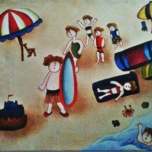 Χειροποίητος Πίνακας σε Καμβά