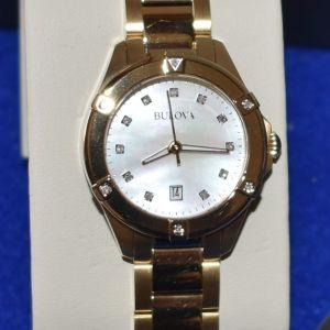 Ρολόι αφόρετο BULLOVA Diamonds 97W100 αμερικάνικο γυναικείο