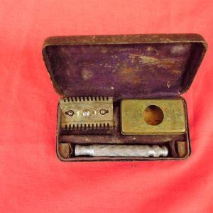 Αμερικάνικο σετ ξυρίσματος της δεκαετίας του '50.