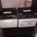 Μπαταρίες Standard, 12βολτες, 45άρες, αχρησιμοποίητες. Πωλούνται οι δύο στην τιμή της μίας.