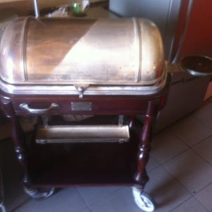 Christofle buffet trolley
