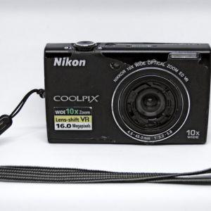 NIKON COOLPIX S6200 16mp Ψηφιακή Φωτογραφική Μηχανή & Βιντεοκάμερα