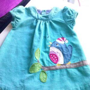 Frugi φορεματακι 0-3 μηνων