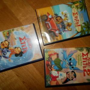 3 dvd lilo & stits
