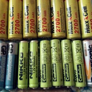 battery AA 800 maah 1800maah 2800maah AAA500 maah epanafortizomenes