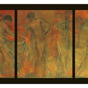 Πίνακας Ελαιοτυπία Νικολάου Γύζη με Κορνίζα