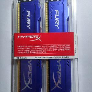 Πωλούνται μνήμες Kingston HyperX Fury 8GB