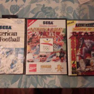 Sega master system σπάνια παιχνίδια