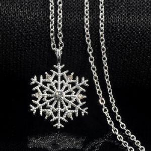 Κολιε - Μενταγιον Χιονονιφαδα Frozen