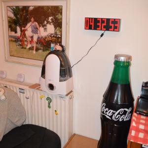 Ψηφιακό Ρολόϊ LED Τοίχου (12ωρο)