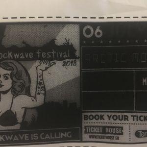 Rockwave festival - Arctic Monkeys
