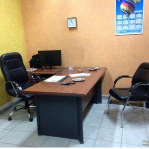 Γραφείο SEDIA 180X70x75 με γωνία 120x65x75 και τροχήλατη συρταριέρα