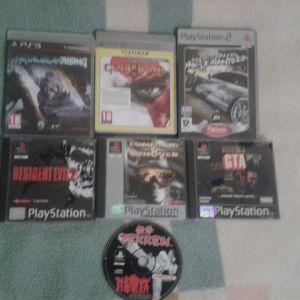 Παιχνίδια ps1, ps2, ps3