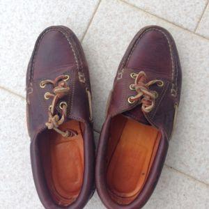 παπουτσια Timberland TRAD HS 3 EYE LUG BR BROWN νο 38