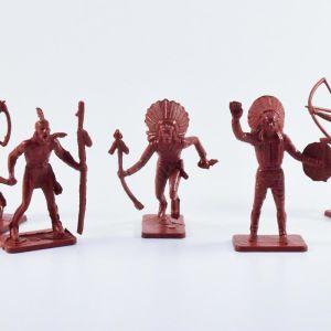 Μινιατούρες - Φιγούρες - Indians (RED)