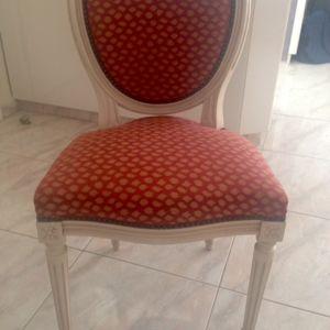 2 καρεκλες χειροποιητες στυλ λουι κενζ
