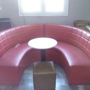 Καναπές καφετέριας, σκαμπό mexil