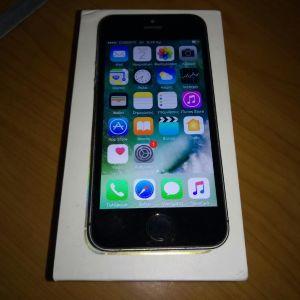 Πωλείται  Apple iPhone 5S Original (64GB) μεταχειρισμενο με ios 10.Δωρα θηκη προστασίας και Ζελατινα προστασια οθονης.