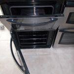 Κεραμική διπλή κουζίνα Tricity Bendix Black + Inox με αέρα
