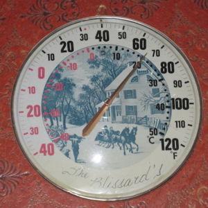 Αντικα Μεγαλο Θερμομετρο Δεκαετιας του 50