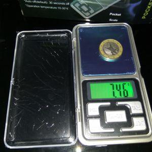 Ηλεκτρονική ζυγαριά ακριβείας 0,2 KG