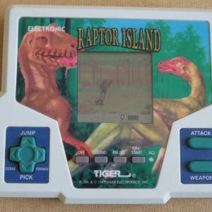 Ηλεκτρονικο παιχνιδι Raptor Island της Tiger 1997