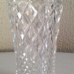 Κρυστάλλινα ποτήρια νερού από κρύσταλλο Βοημίας σκαλιστά κωδ1