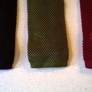 Γραβάτες μεταξωτές πλεκτές (3) + 1 δώρο