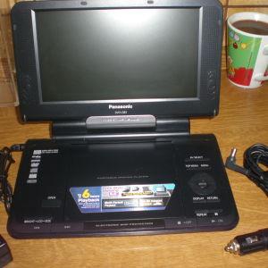 Panasonic dvd-LS83 (portable DVD player)