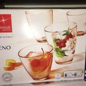 12 ποτήρια κρασιού--νερου Bormioli Zeno