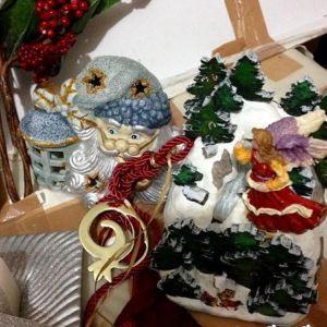 4 χριστουγεννιατικα διακοσμητικα ολοκαινουργια
