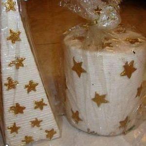 3 χριστουγεννιατικα κερια μεγαλα ολοκαινουργια