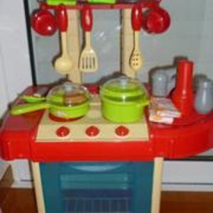 μικρη πλαστικη κουζινουλα