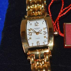 Ρολόι αφόρετο KRUG BAUMEN Tuxedo Diamond αγγλικό ολοκαίνουργο γυναικείο