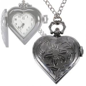 Lover Heart Pocket Watch