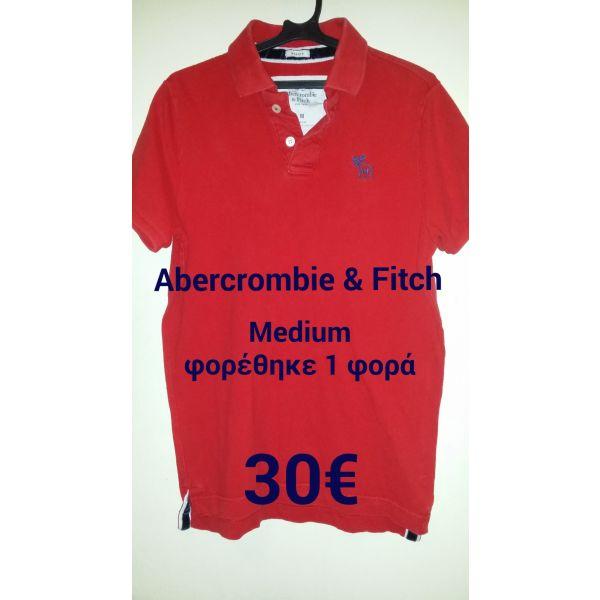 Abercrombie   Fitch polo shirt κόκκινο - αγγελίες στο Αθήνα - Vendora.gr d73fd483f40