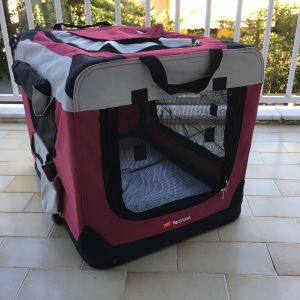 Πτυσσόμενη FERPLAST τσάντα μεταφοράς, μικρού σκύλου ή γάτας